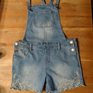 Other - Cat & Jack girls overalls XL 14 16 youth outfit